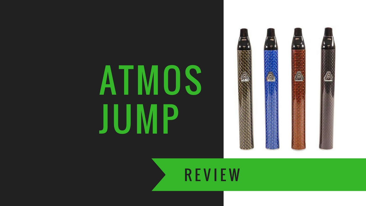 Atmos Jump Vaporizer Review (2019) - Does It Live Up To The